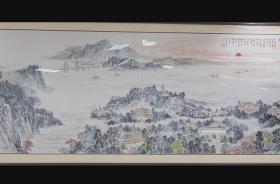 百年足迹铝板画专题片
