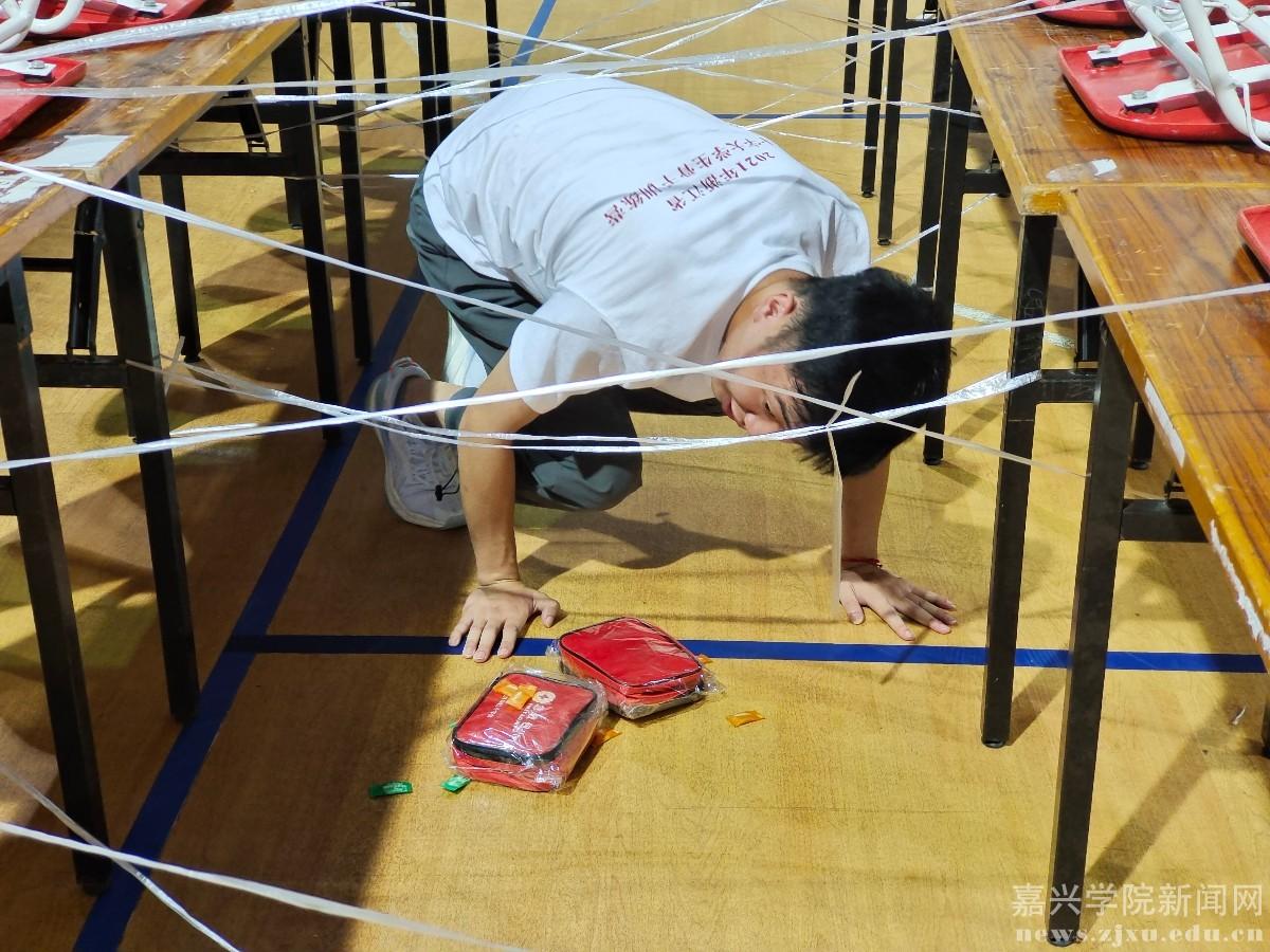 2021年浙江省红十字大学生骨干训练营在嘉兴学院举办